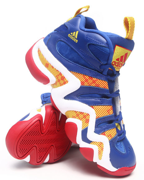 Adidas Blue,Multi Crazy 8 Sneakers