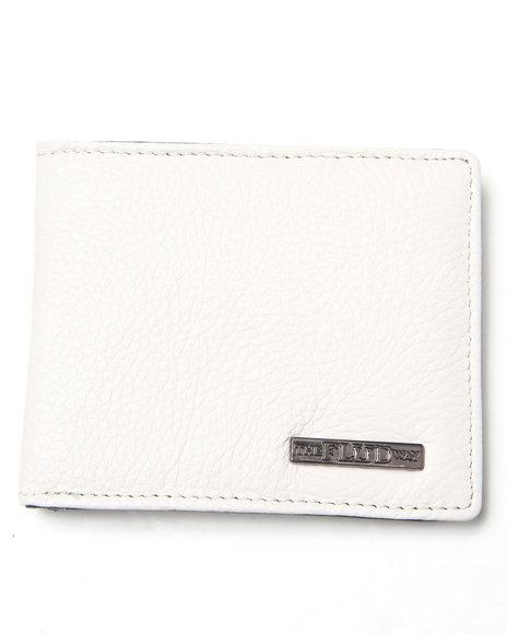 Flud Watches Men Flud Classic Wallet White 1SZ