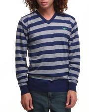 Buyers Picks - Striped Vneck Sweater