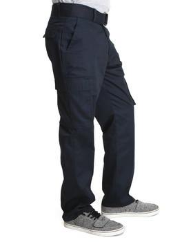 Basic Essentials - Cargo Pocket Pants with Belt