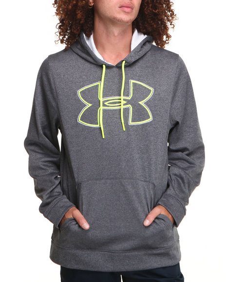 Under Armour Grey Big Logo Hoody