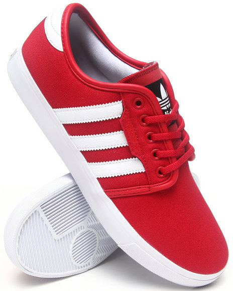 Adidas Red Seeley Sneakers
