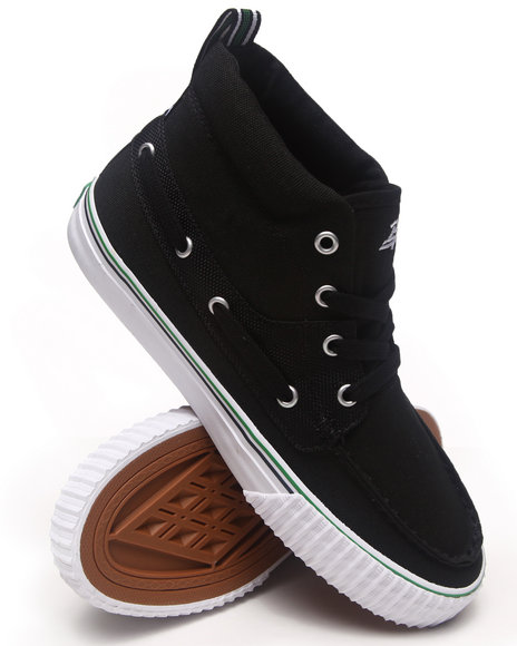 PF Flyers Black Dionas Mid Sneakers