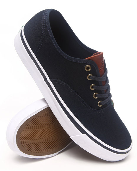 PF Flyers Navy Windjammer Waxed Canvas Sneakers