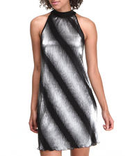 Fashion Lab - Trapeze Foil Dress