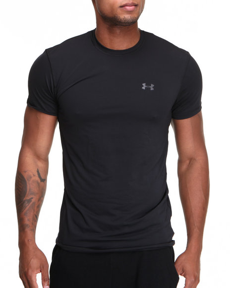 Under Armour Black The Original Fitted Crew Shirt