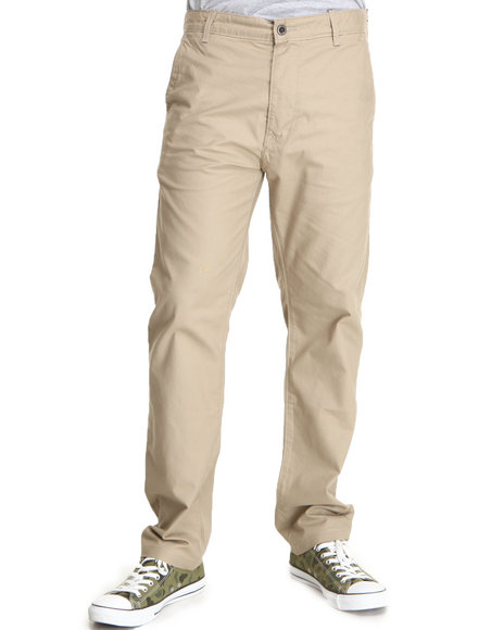 Levi's Khaki 556 Regular Fit Spivey Camo Harvest Gold Chinos