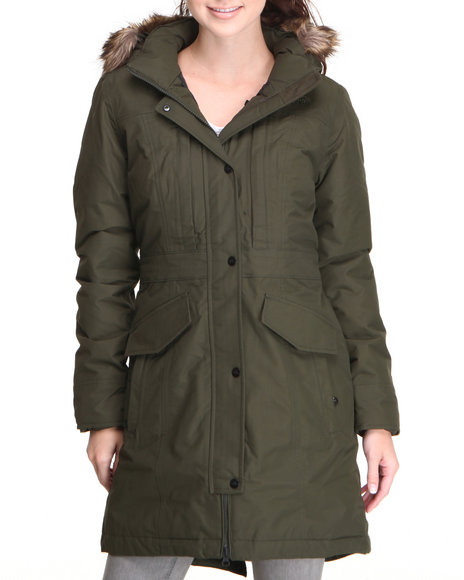 The North Face Green Insulated Kiara Parka