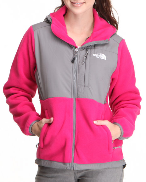The North Face Pink Oso Denali Hoodie