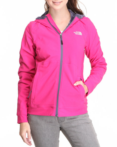 The North Face Pink Maddie Raschel Hoodie