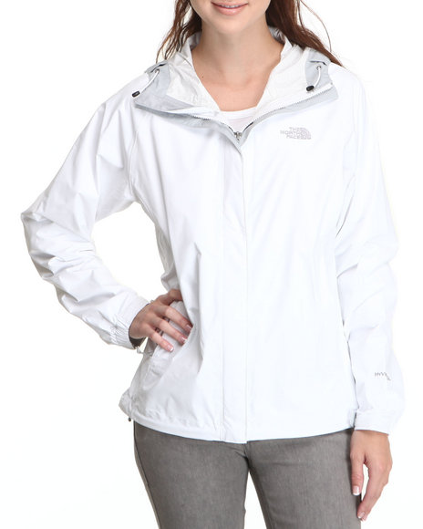 The North Face White Venture Jacket