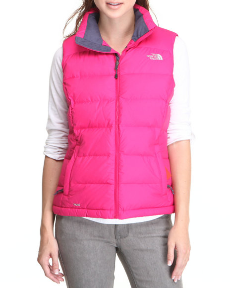 The North Face Pink Nuptse 2 Vest