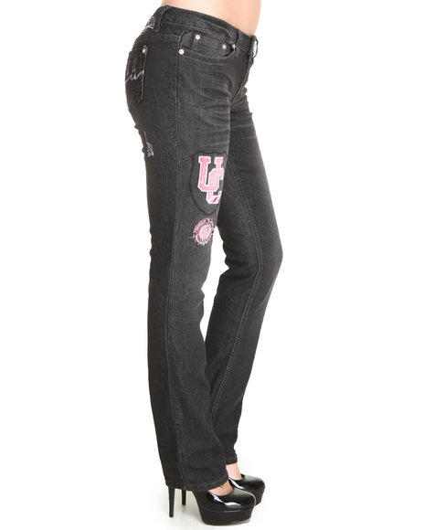 Coogi - Women Black Skinny Jean Pants