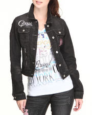 Women - Coogi jean jacket