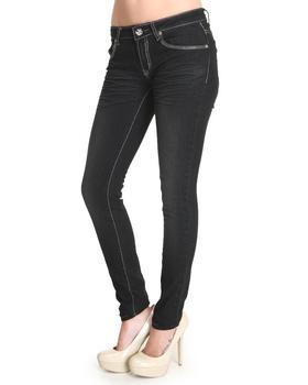 Basic Essentials - Basic Denim Pant with clean back pocket