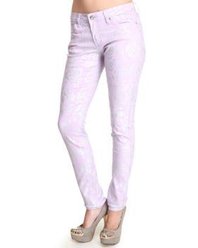 Basic Essentials - Foil Print Jean