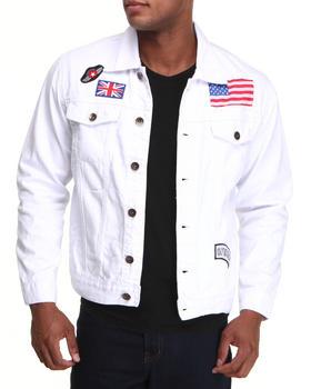 Buyers Picks - US UK Patch Denim jacket