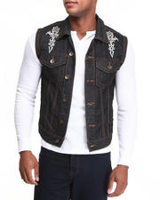 Outerwear - Tat Denim Vest