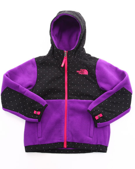 The North Face Girls Purple Denali Hoodie (5-16)