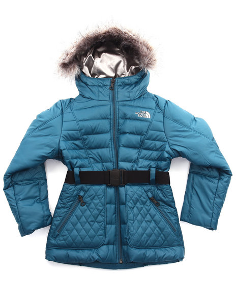 The North Face - Girls Teal Parkina Down Jacket (5-16)