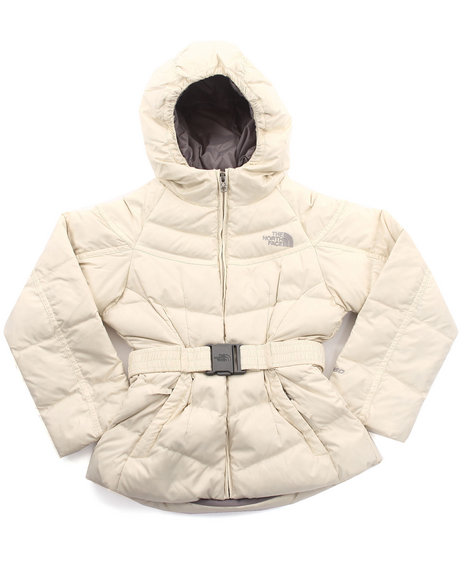 The North Face - Girls Ivory Collar Back Down Jacket (5-18)