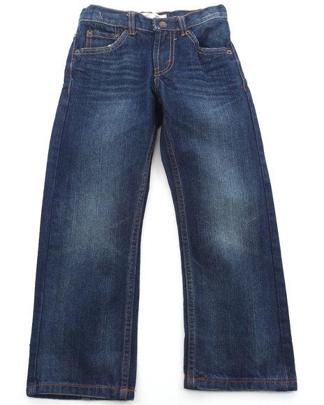 Levi's Boys Medium Wash 505 Vip Regular Fit Jeans (4-7X)