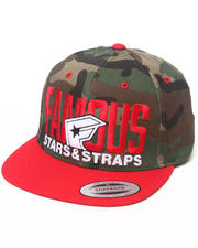 Famous Stars & Straps - Blockout Snapback Hat