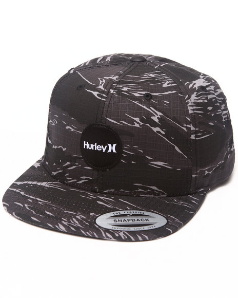 Hurley Flammo Snapback Cap Camo