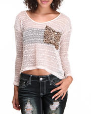 Black Friday Shop - Women - Animal Print Back Fashion Top