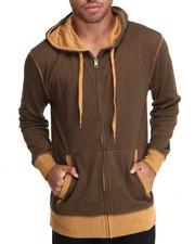 Hoodies - 2-Tone Premium Full Zip  Hoodie