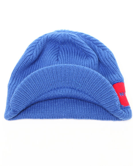 The North Face Boys Blue Sideways Beanie