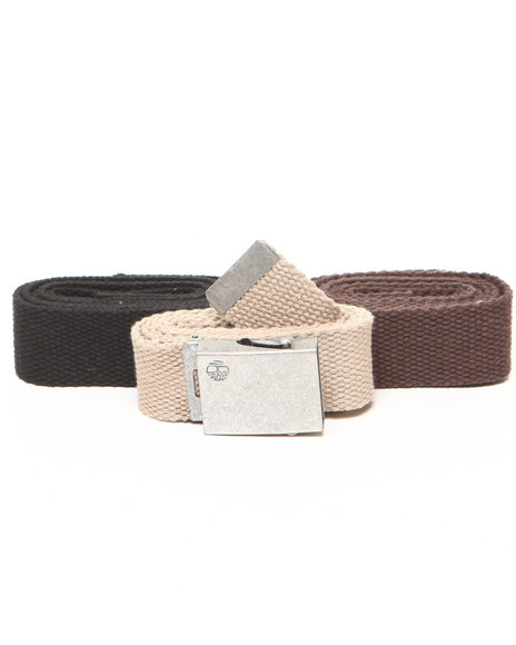 Timberland Men Timberland 3 In 1 Web Belt Package Multi 1SZ