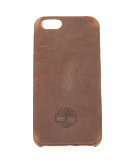 Timberland Men Timberland Mt Washington Iphone 5 Leather Wrapped Cover Brown 1SZ