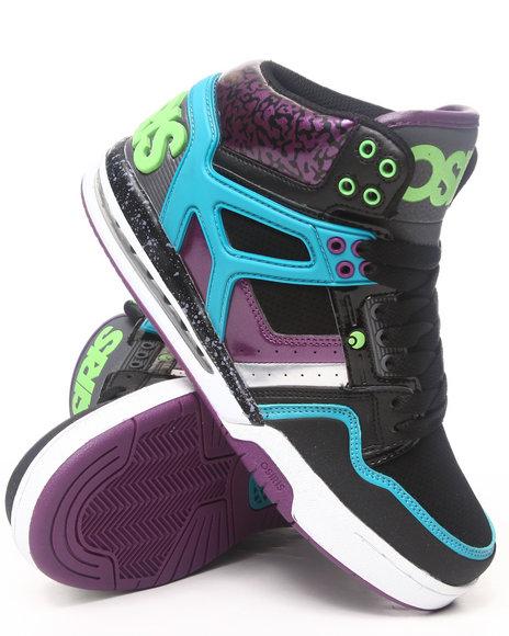 Osiris - Men Green,Grey,Purple Rucker Sneakers