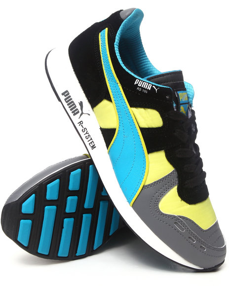 Puma - Men Multi Rs100 Fluo Sneakers