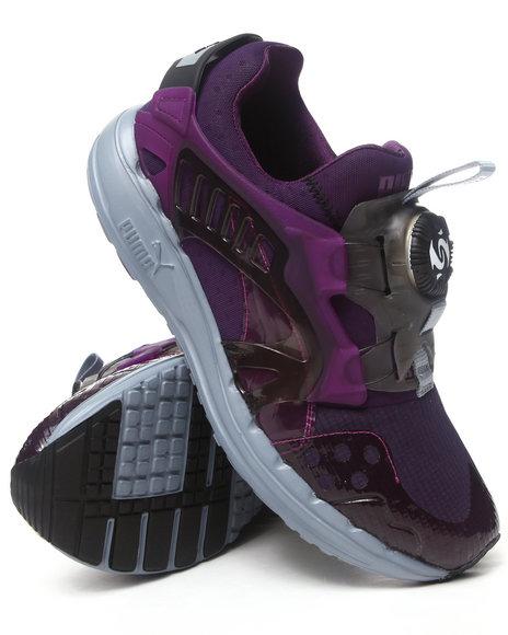 Puma Grey Disc Blaze Lite Tech Sneakers