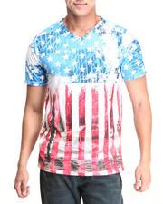 Men - USA Surf Flag Sublimation Tee