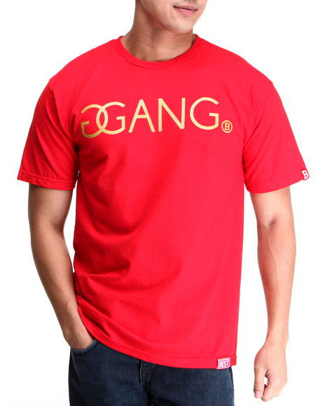 Breezy Excursion Red Trinidad James X Breezy Excursion Gold Gang Tee