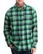 Hurley - Apollo L/S Flannel Button-down