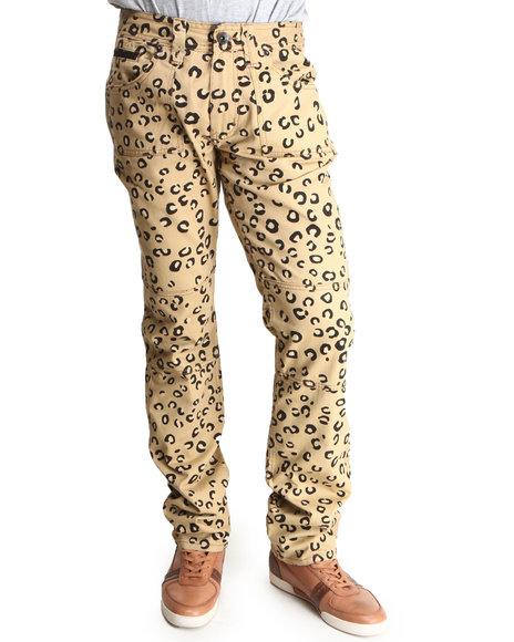 Akoo Men King Vicious Twill Pants Animal Print 32