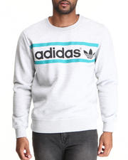 Men - Heritage Logo Crewneck Sweatshirt
