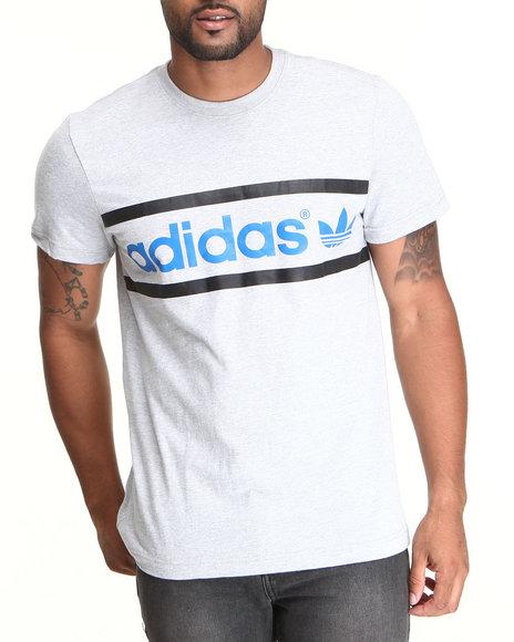 Adidas Grey Heritage Logo Tee