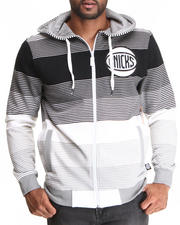 Men - New York Knicks Weaz Full Zip Hoody