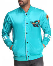 Men - Satin Varsity Jacket