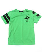 Boys - SOLID V-NECK TEE (4-7)