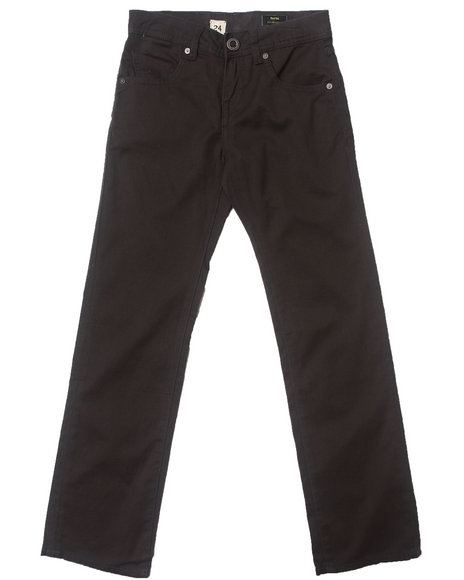 Volcom Boys Grey Vorta Twill Pants (8-20)