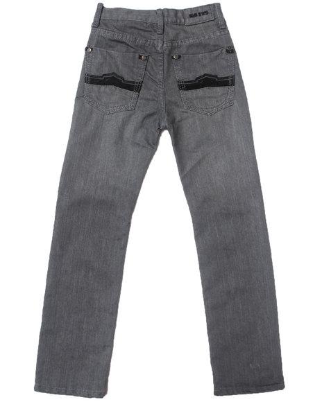 Arcade Styles Boys Ez Premium Jeans 820 Light Grey 8