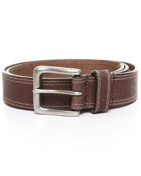 Timberland - Men Brown Timberland Boot Leather Belt