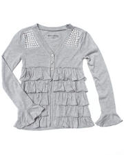 Girls - Ruffle Cardigan (7-16)