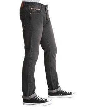 Bellfield - 5 Pocket Aztec Denim Jeans